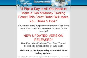5 Pips A Day Forex Robot Profits Everyday!