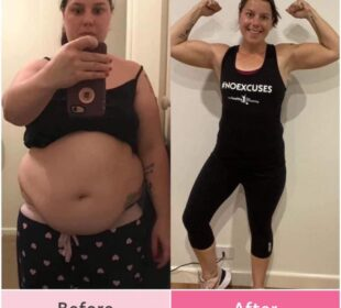 How losing 25kg in 12 months helped this mum overcome her mental health issues