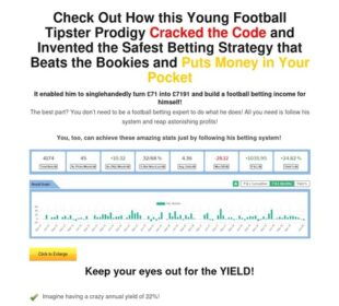 Main Sales Page — Football Betting Tips and Predictions - Bettor Experience
