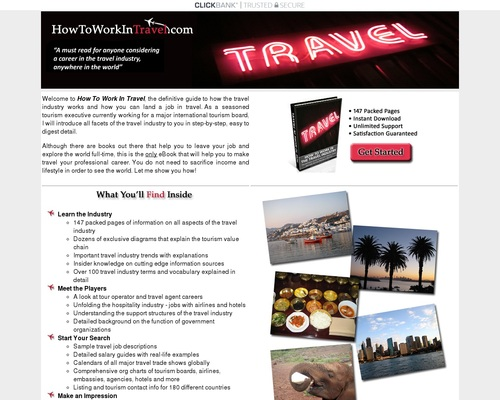 How to Work in Travel - Guide to jobs and careers in travel