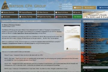 S Corp Tax Benefits & Advantages Book - Watson CPA Group